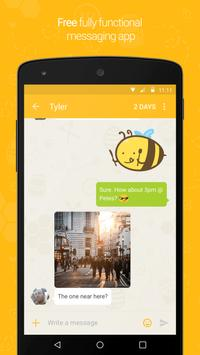 Buzz - Chat Safely poster