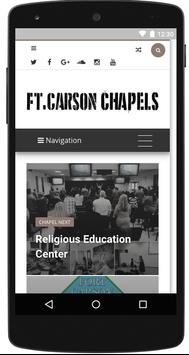 Fort Carson Chapels poster