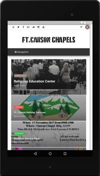 Fort Carson Chapels apk screenshot