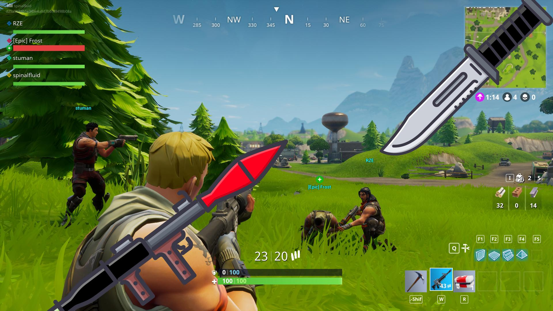 Fortnite Battle Royale game: 2018 guide new tips for Android - APK ...