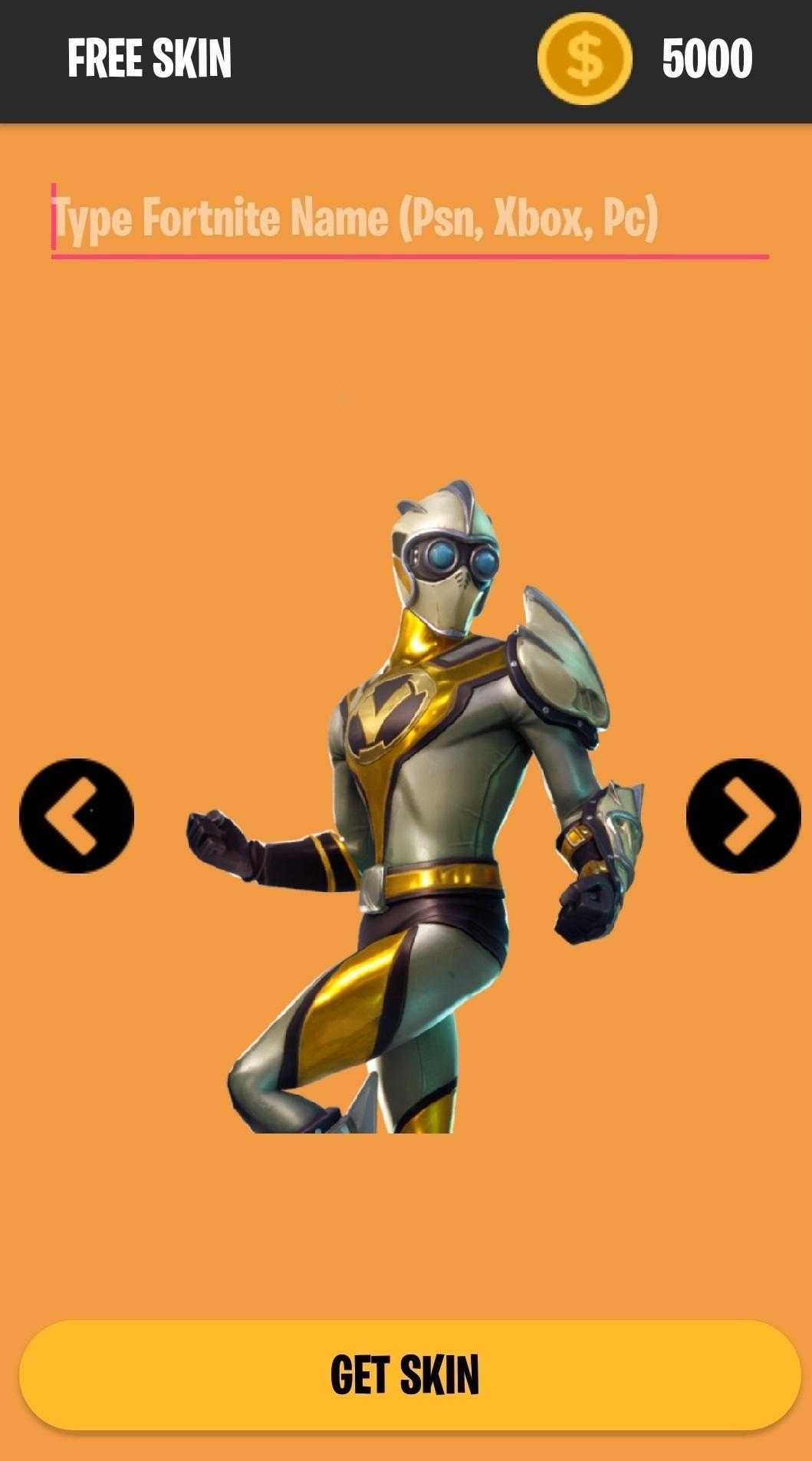 Fortnite Free Skins For Android Apk Download