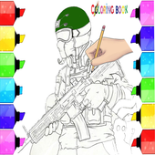 drawing and paint fortnite battle castle icon
