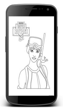Fortnite Coloring Pages screenshot 1