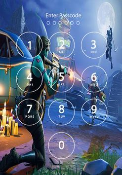 Free Fortnite Battle Royale Lock Screen poster