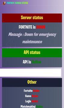 Fortnite Server Status poster
