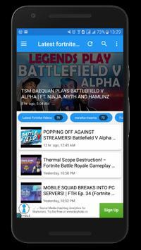Latest Videos For Fortnite screenshot 1