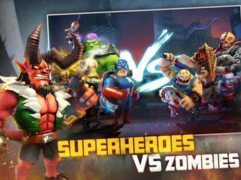 Last Heroes: Battle of Zombies apk تصوير الشاشة