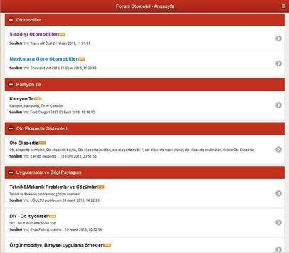 Forum Otomobil Bilgi Portalı apk screenshot