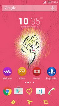 For Xperia Theme Beautiful apk screenshot