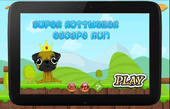 rottweiler Escape Run poster