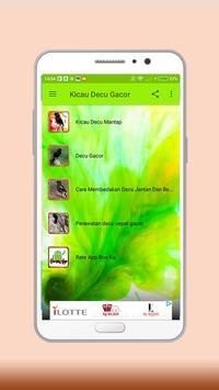 New Kicau Decu Gacor screenshot 1