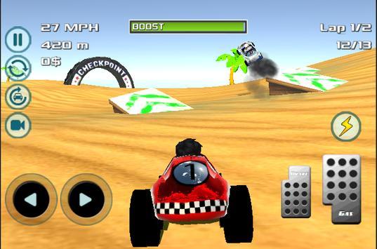 Buggy horizon race poster