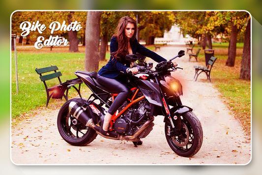 Bike Photo Editor screenshot 1