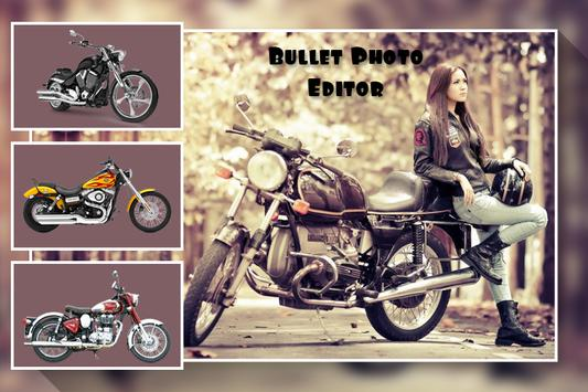 Bullet Bike Photo Editor screenshot 1