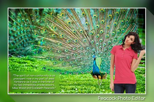 Peacock Photo Editor screenshot 3
