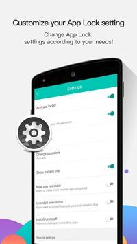 تطبيق القفل - AppLock تصوير الشاشة 7