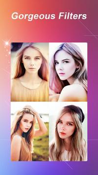 InstaBeauty -Makeup Selfie Cam apk screenshot