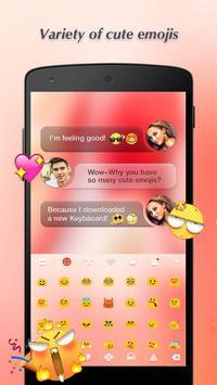 Keyboard - Boto: Peach Pink screenshot 1