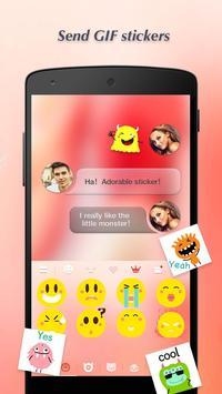 Keyboard - Boto: Peach Pink screenshot 2