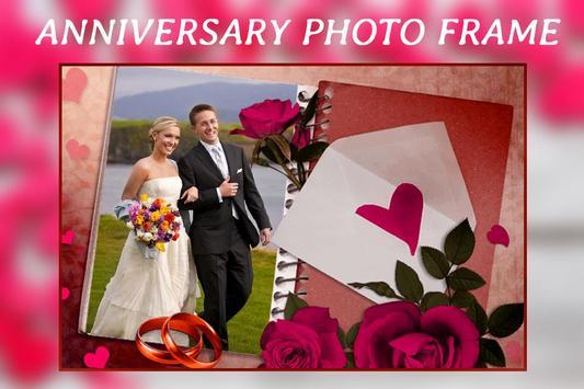 Love Anniversary Photo Frame Editor poster