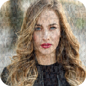 Mosaic Photo Collage Effect icon