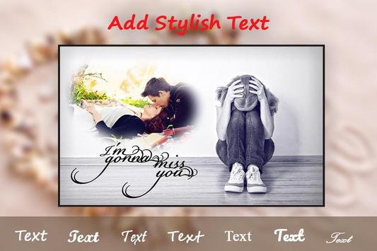Miss You photo Frame Editor apk screenshot
