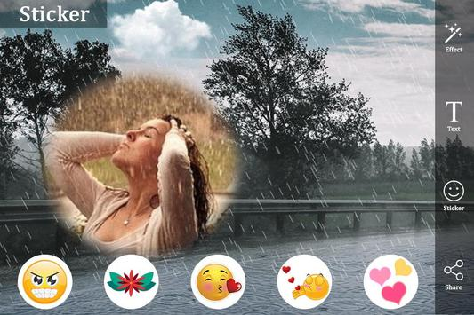 Rainy Photo Frame : Rain Photo Editor apk screenshot