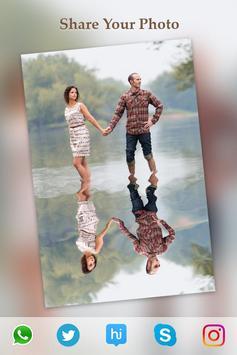 Water Photo Reflection Effect :Photo Mirror Editor apk screenshot