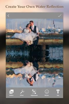 Water Photo Reflection Effect :Photo Mirror Editor poster