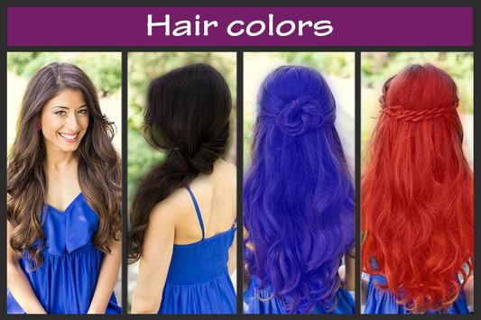 Hair Color Changer apk screenshot