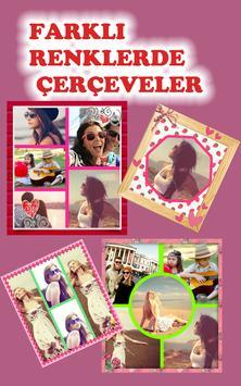 Fotoğraf Kolajı Ve Çerçeveleri poster