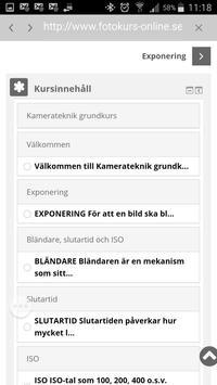 Fotokurs by Mästerfoto screenshot 2