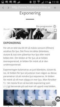Fotokurs by Mästerfoto screenshot 3