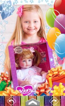 Happy Birthday Frame poster