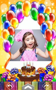 Happy Birthday Frame screenshot 1