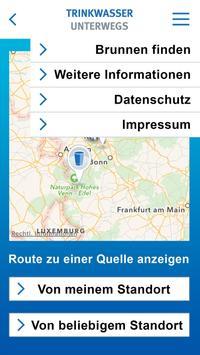Trinkwasser unterwegs screenshot 1