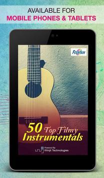 50 Top Filmi Instrumentals screenshot 4