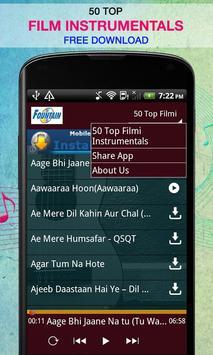 50 Top Filmi Instrumentals screenshot 2