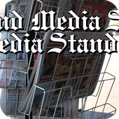 News Media Stand icon