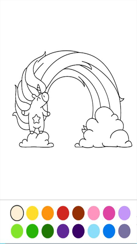 unicorn number coloring book for Android - APK Download