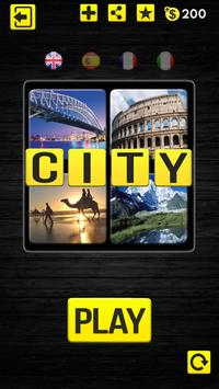 4 Pics 1 Word - City / Country poster