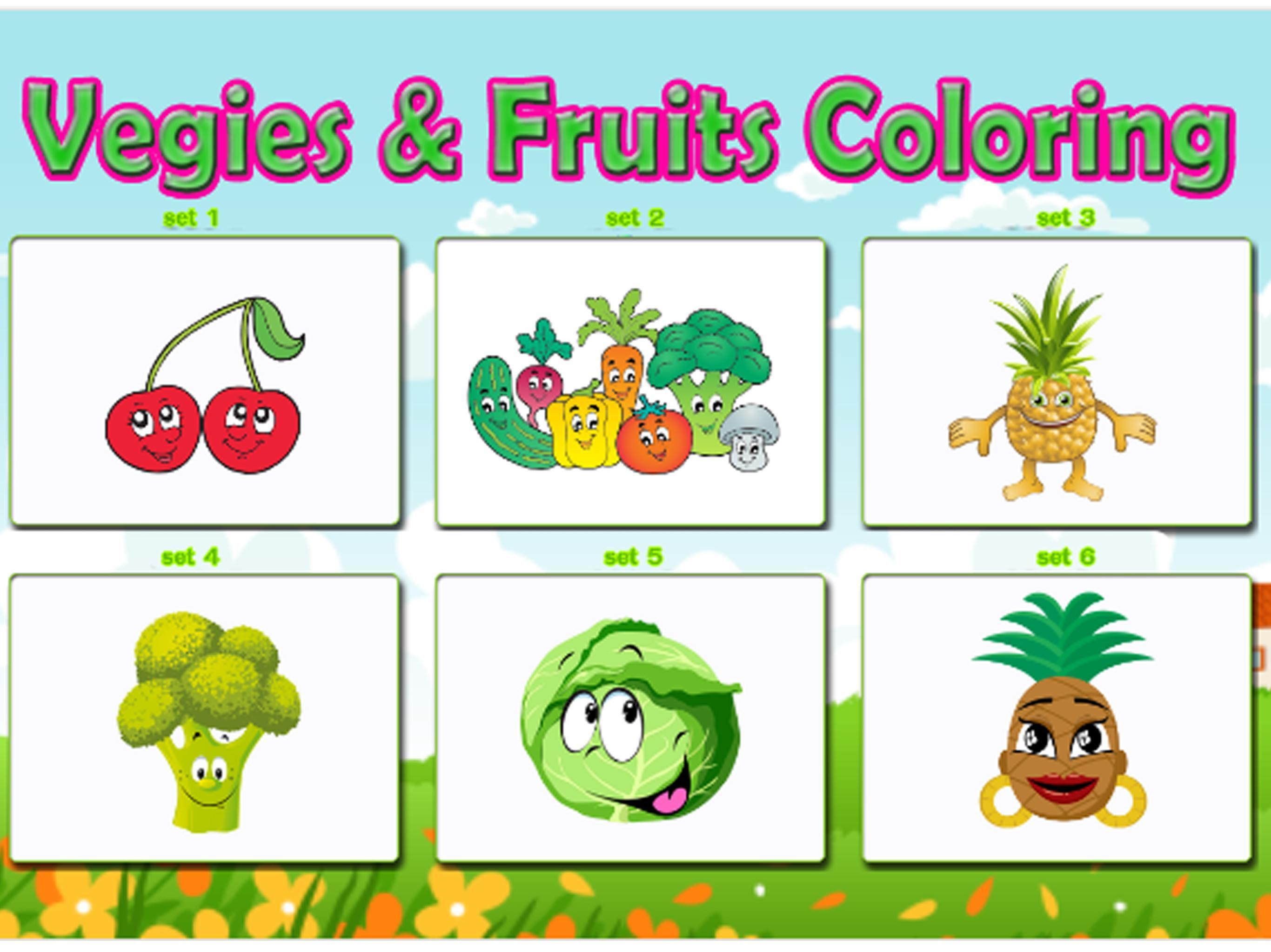 Verduras Frutas Para Colorear For Android Apk Download