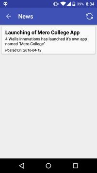 Mero College apk screenshot