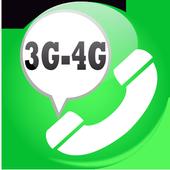 4G call voice 2018   tips icon