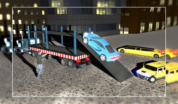 Limo Robot Transporter Big Truck 2018 screenshot 11