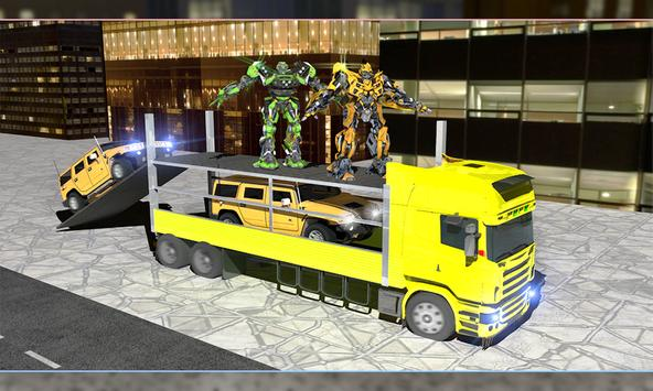 Limo Robot Transporter Big Truck 2018 screenshot 1