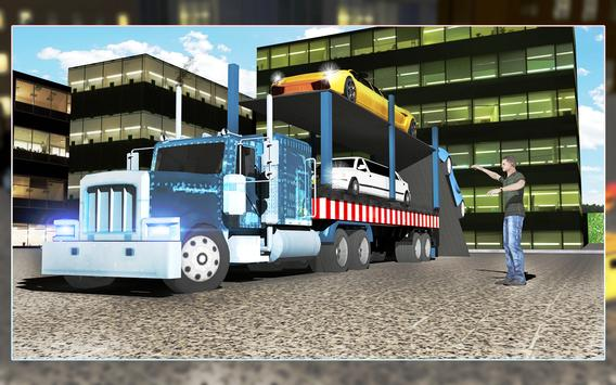 Limo Robot Transporter Big Truck 2018 screenshot 7