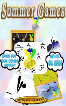Summer Games Sports poster