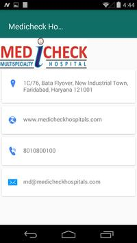 Medicheck Hospital screenshot 4