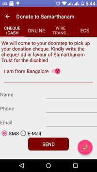 Samarthanam Trust for Disabled apk screenshot